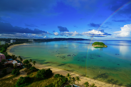 Beach of Guam (Rainbow)