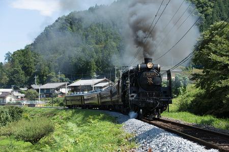 locomotive: steam locomotive Editorial