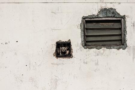 louver: wall and louver
