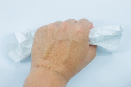wrinkled paper: wrinkled paper