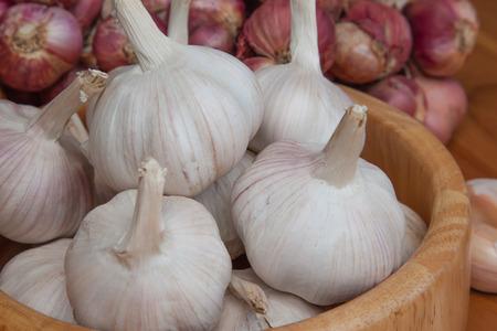 shallots: Shallots garlic onion Stock Photo