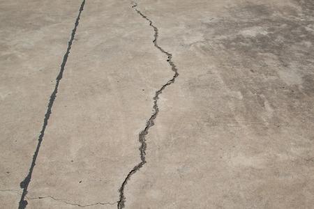 cracked: roads cracked