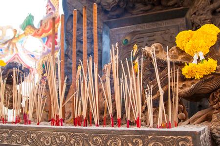 Incense: chinese incense burner Stock Photo