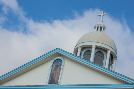 chapel and the bluesky