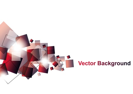 Red Abstract Vector Hintergrund