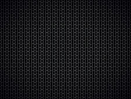 Abstract metallic black background,  illustration Illustration