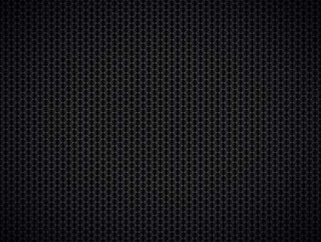 Abstract metallic black background,  illustration Vettoriali