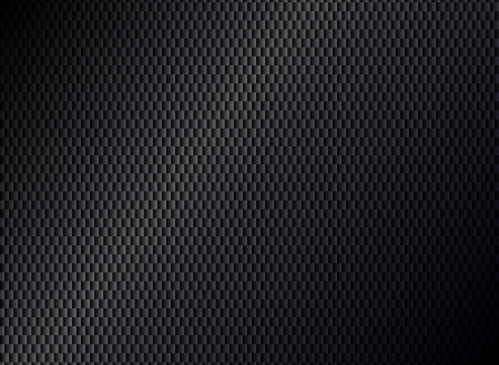 aperture grid: Abstract metallic black background Illustration