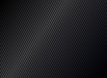 Astratta metallico sfondo nero Archivio Fotografico - 18520041