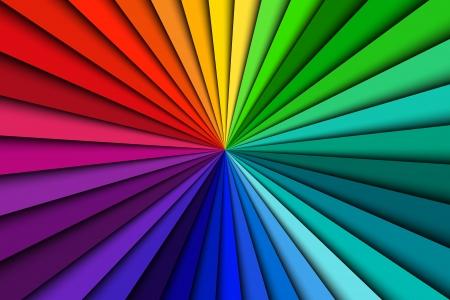 Abstrakt Farbe Hintergrund Spektrallinien Illustration