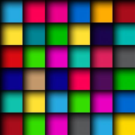 Patrón de mosaico de color brillante Foto de archivo - 21827637