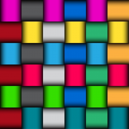 Glatte Farben-Mosaik-Muster, Vektor-Illustration Illustration