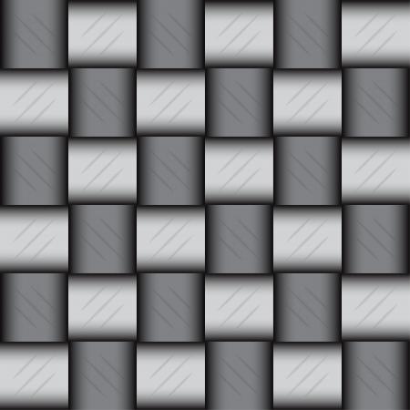 Glossy metalic mosaic pattern, vector illustration