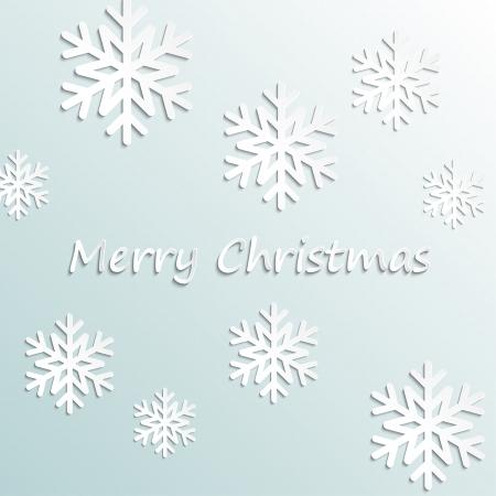 Eenvoudige vector Merry Christmas achtergrond