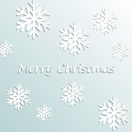 Simple vector merry christmas background Ilustração