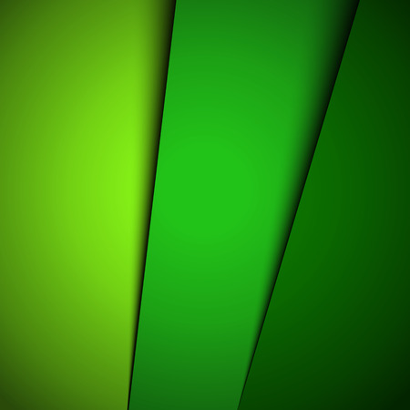 Green abstract background illustration Ilustração