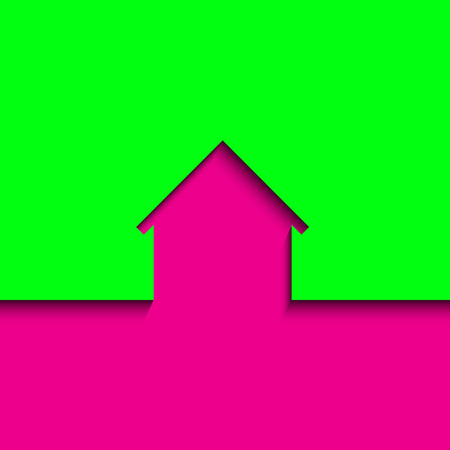 Abstract house icon illustration