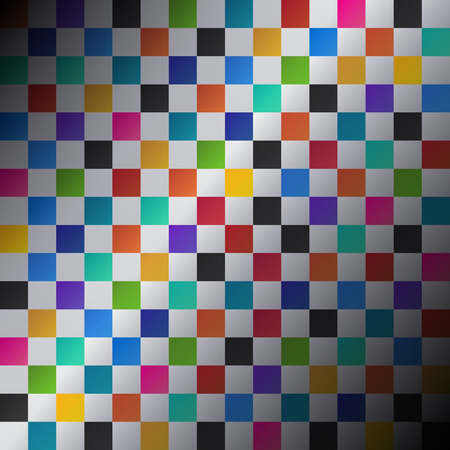 Colored squares abstract background, vector illustration Illustration