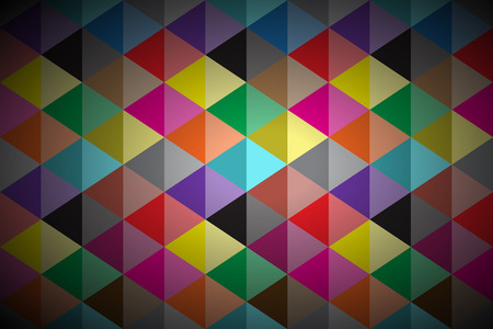 Abstract background, colored triangle