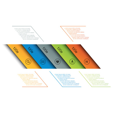 banners web: Infographic template, simple timeline with icons, web design, banners, applications, elements