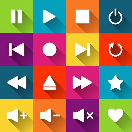 media bar controls 482 media controls stock vector illustration and royalty free
