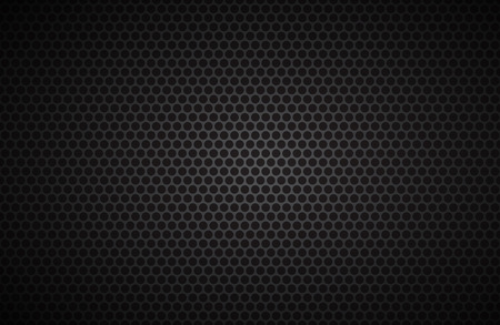 aluminum: Geometric polygons background, abstract black metallic wallpaper