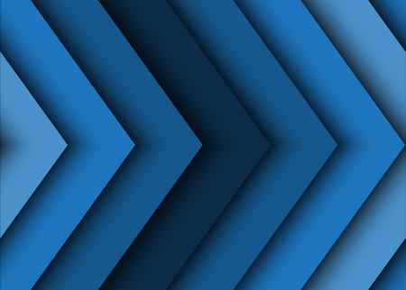Niebieskie tło abstrakcyjna strzałek