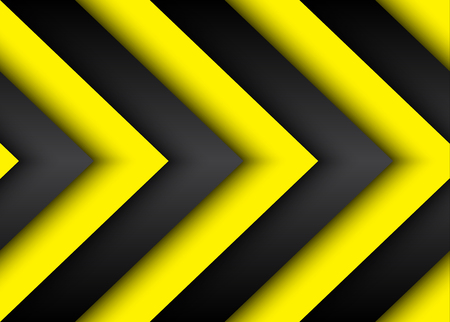 black yellow: Abstract modern background with black and yellow lines Illustration