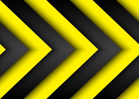 amarillo y negro: Fondo moderno abstracto con líneas negras y amarillas