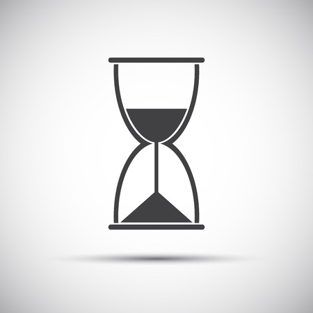 simple: Simple hourglass icon