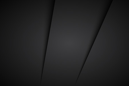 shiny black: Black abstract background