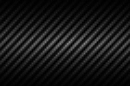Black and silver abstract background with diagonal lines, vector illustration Archivio Fotografico