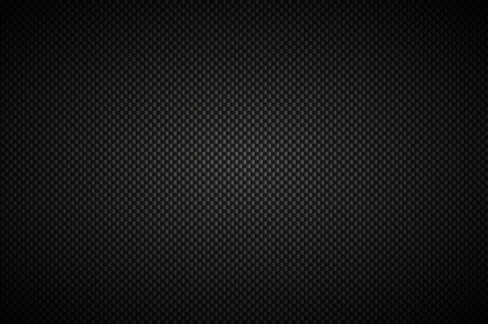 Carbon black abstract background, modern metallic look, vector illustration