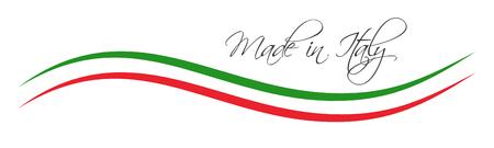 이탈리아의 색 리본 색깔, 이탈리아 기호에서 만든