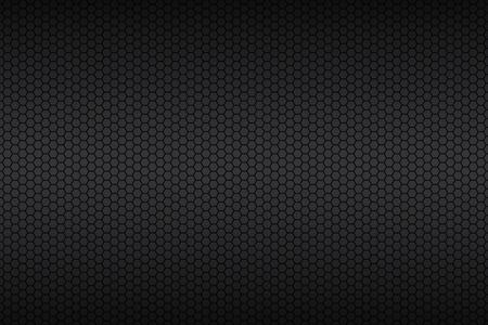 Geometryczne wielokąty, abstrakcyjne czarny metalik tapety, ilustracji wektorowych