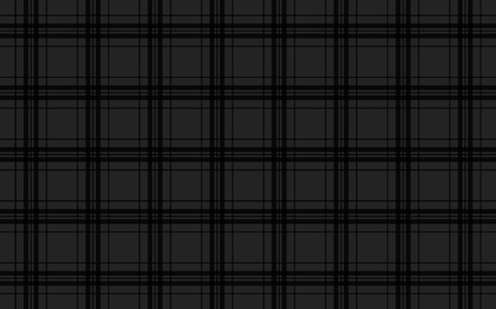 celtic: Black abstract background, seamless tartan vector pattern