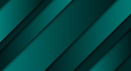 추상 녹색 배경, 대각선 및 스트립, 벡터 일러스트 레이 션