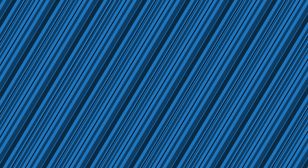 Blue background with different dark lines, blue stripes, vector illustration Illustration