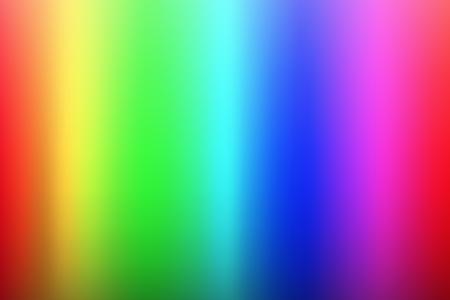 Vector olor spectrum background, rainbow colors, palette of rgb colors, blurred colored illustration Illustration