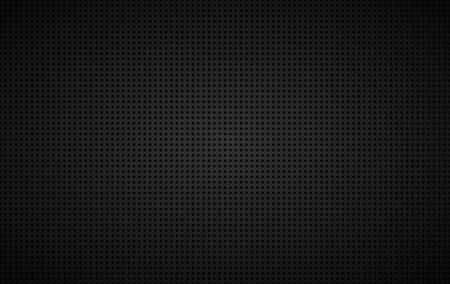 Abstract black metallic square