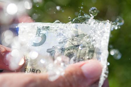 money laundering: Riciclaggio di denaro sporco. Archivio Fotografico