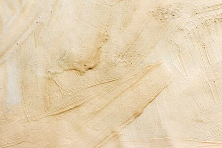 Background drawn with paints. Beige texture background. Abstract.