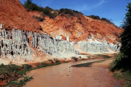 ne: Sandy slope of the Golden River canyon  Mui Ne, Vietnam