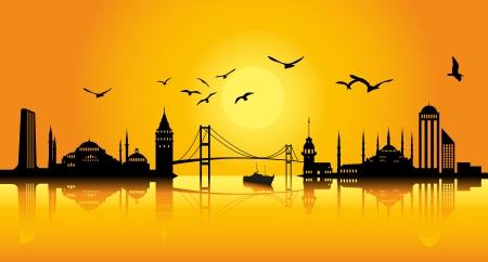 bosphorus: Istanbul Silhoutte