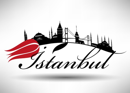 blue mosque:   304;stanbul Silhouette Design