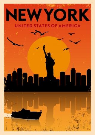 Vintage Poster New York