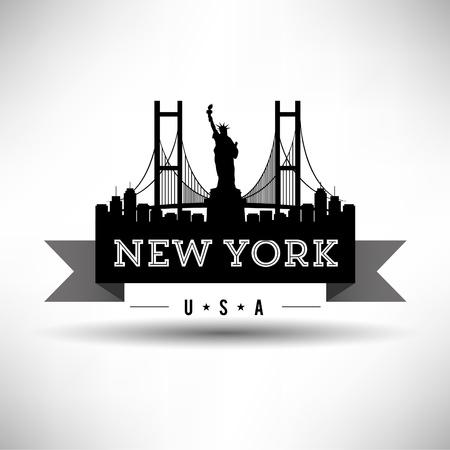 뉴욕 타이포그래피 디자인 스톡 콘텐츠 - 21653048