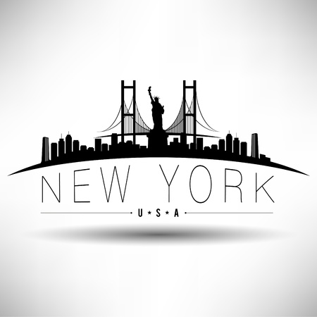 city: New York Typography Design