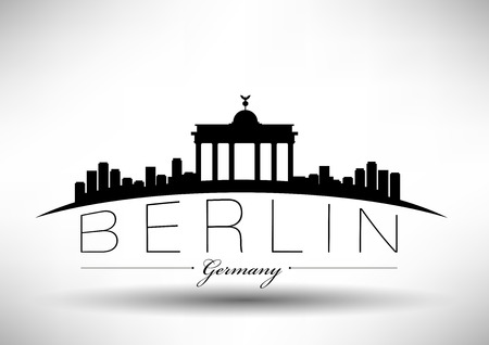 Berlin City Skyline Design