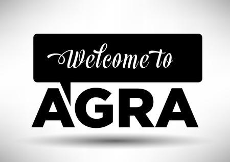 agra: Agra Typography Design
